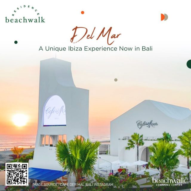 Get yourself a cozy yet great ambiance and vibes only at Del Mar Bali!  As one of the newest beach clubs in Bali, Del Mar Cafe offers you a center stage, a huge pool, and a mesmerizing view where you can enjoy beaches and excellent food and beverages.  If you desire to experience Ibiza vibes without going there, here is the best place for you, and it's only less than 30 minutes away from beachwalk Residence.  #DelMarCafe #VisitBali #DiscoverBali #DreamHome #beachwalkresidence #StrategicLocation #LivingInBali #BeachwalkBali #ShorelyBeautiful #HomeIsWhereYourHeart #HomeToYou #HomeAwayFromHome #UrbanLiving #BaliLuxuryResidence #BeautifulLegacy #ResidenceInBali #HomeInBali #WhenInBali #Kuta #LiveInKuta #ParadiseIndonesia #TheParadiseGroup #INPP