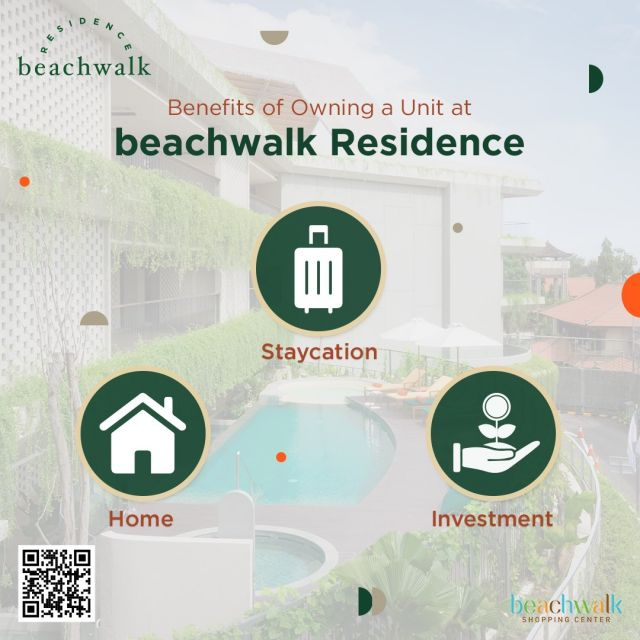beachwalk Residence is now ready to move in!  This newly-built apartment in Bali is definitely your best option. Experience living in the heart of modern Bali, enjoy your staycation at the best rate or use this opportunity to start investing in property!  Have questions to ask? Contact our in-house representative on +62 811 8481 223 now!  #DreamHome #beachwalkresidence #StrategicLocation #LivingInBali #BeachwalkBali #ShorelyBeautiful #HomeIsWhereYourHeart #HomeToYou #HomeAwayFromHome #UrbanLiving #BaliLuxuryResidence #BeautifulLegacy #ResidenceInBali #HomeInBali #WhenInBali #Kuta #LiveInKuta #ParadiseIndonesia #TheParadiseGroup #INPP